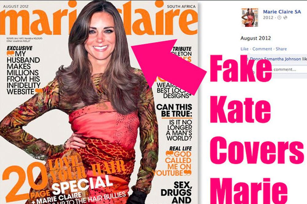 Kejt Midlton ljuta zbog naslovnice u Mari-Kleru