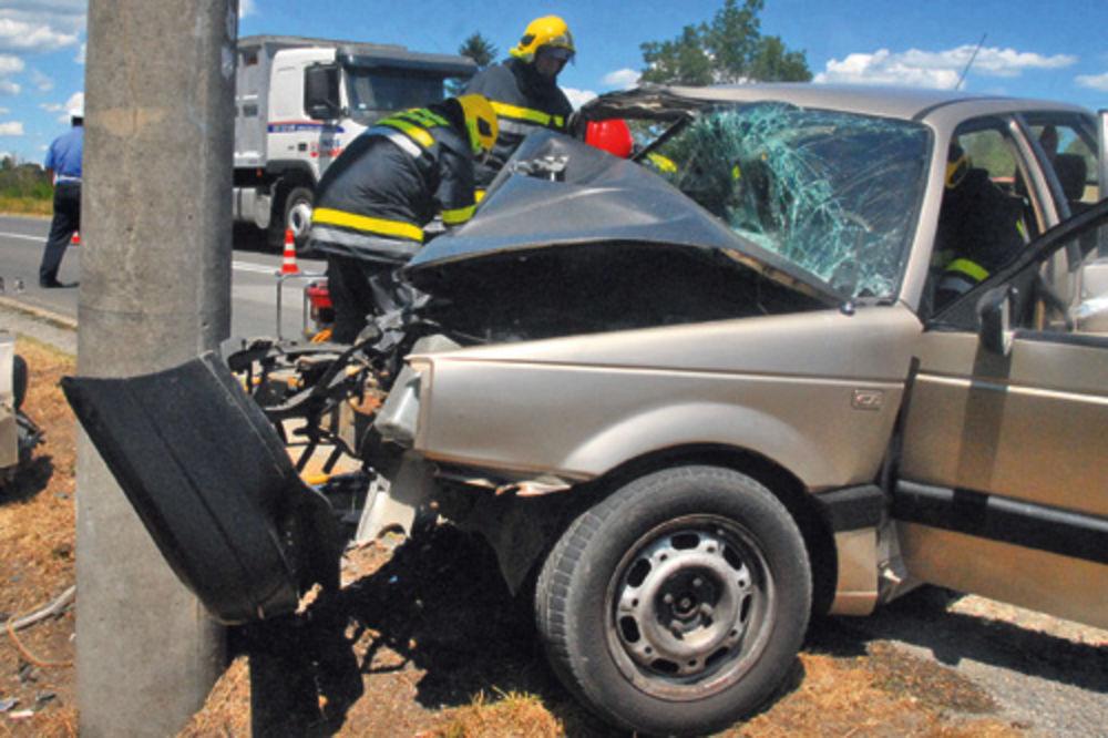 saobraćajna nesreća, Vrnjačka banja, poginula Ljubica J.
