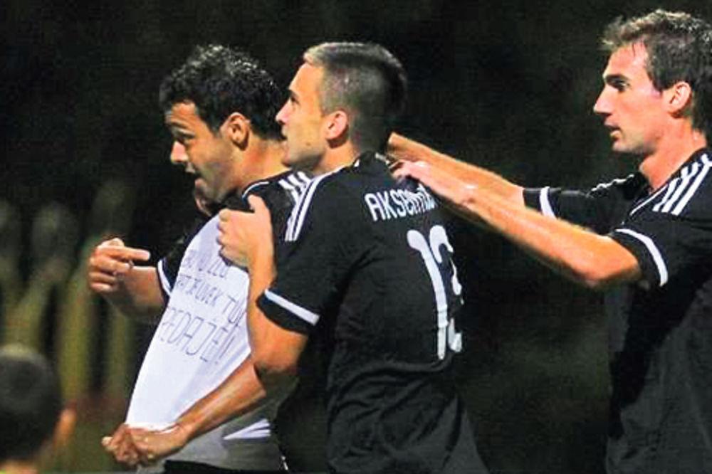 Nemanja Tomić, Milan Lola Smiljanić, gol, Partizan, Valeta