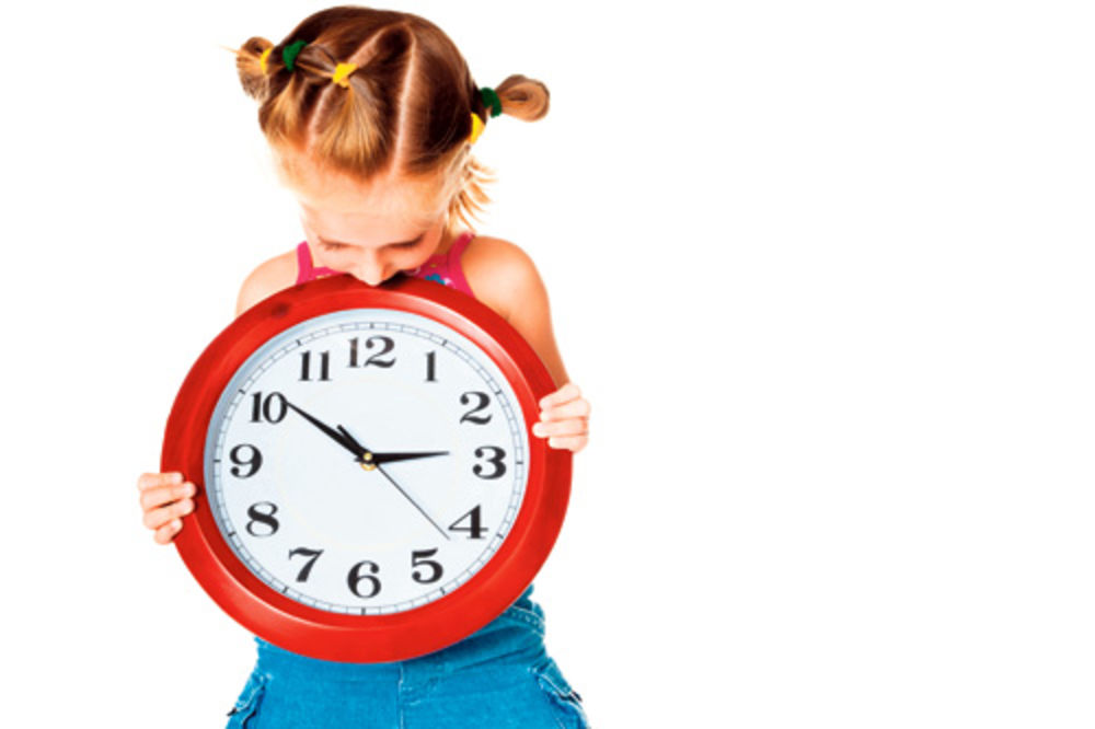 sat, vreme, dete, deca, učenje, roditelji,