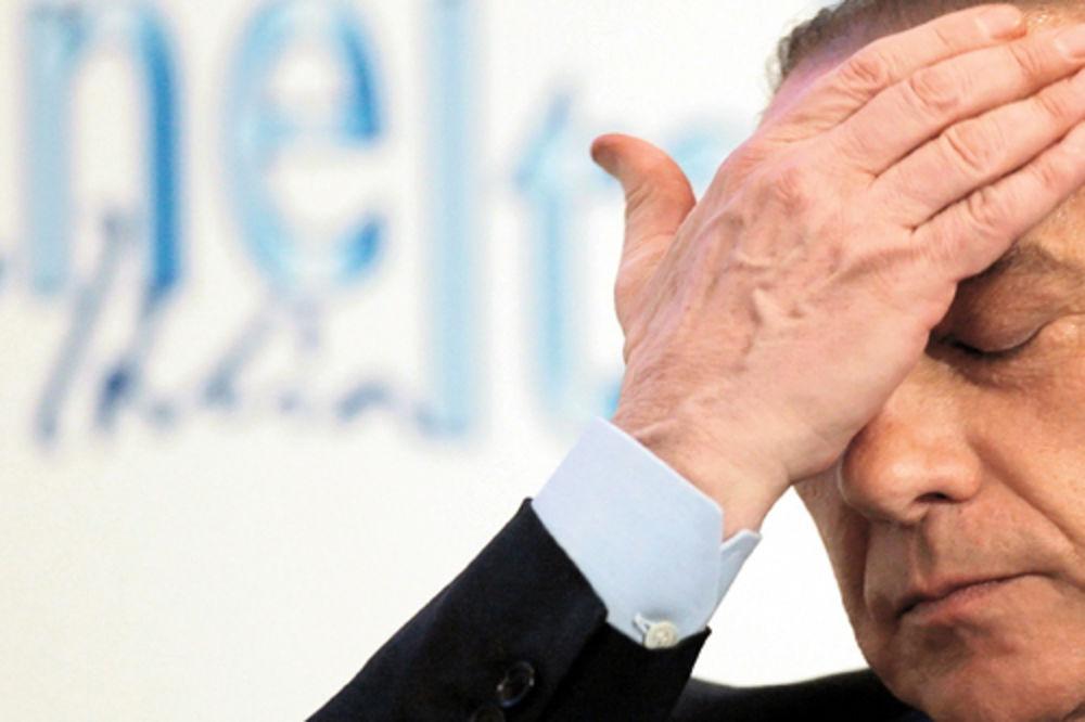 ljubavnica, Nikol Mineti, Silvio Berluskoni, ucena, milion evra,