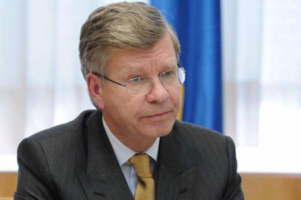 Krister Asp, ambasador, voz, EU, Srbija, Švedska,