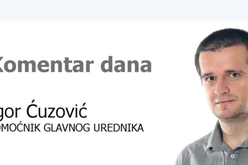 Igor Ćuzović, komentar dana, Kurir