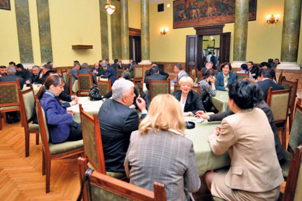 Dom narodne skupstine Srbije, poslanici, restoran, poskupljenje, kafa