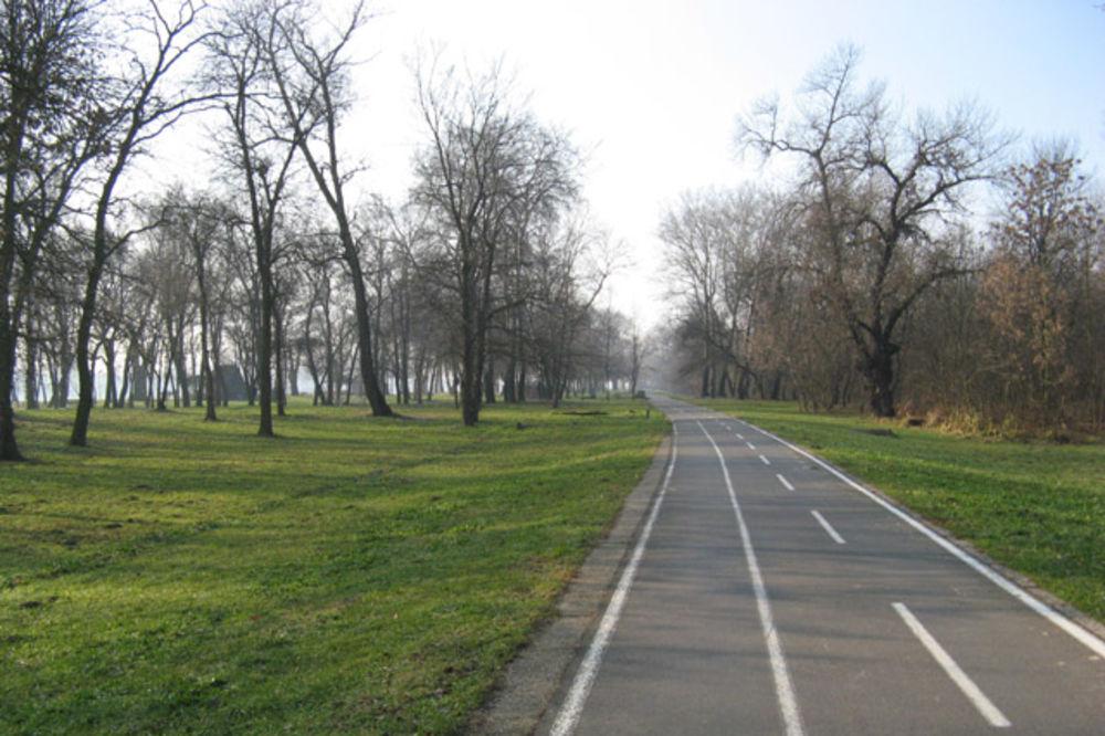 Zrenjanin, Rumunija, biciklistička staza, izgradnja,