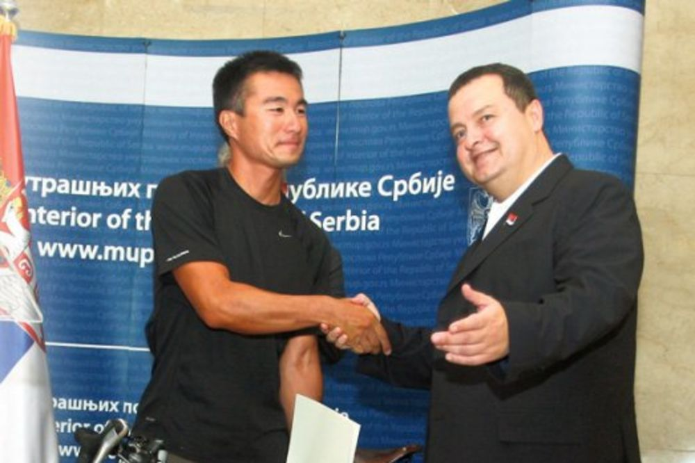 Japanac Rio: Hvala ti, Srbijo!