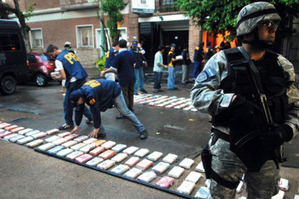 Policija u Južnoj americi zaplenila je više od tri tone Šarićevog kokaina