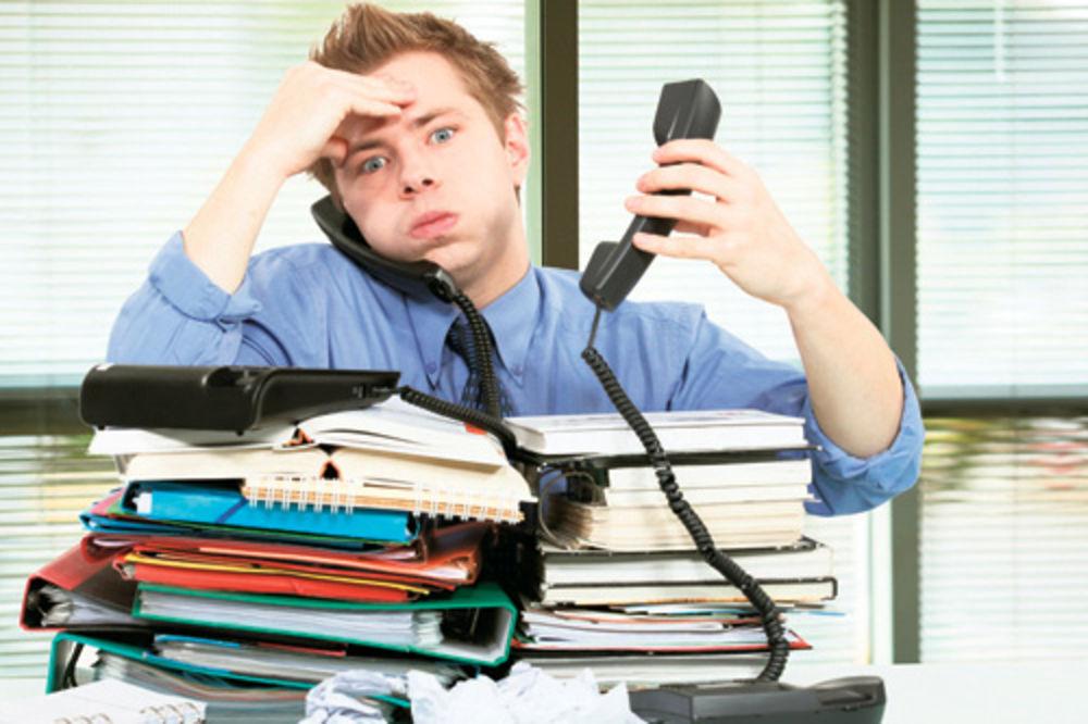 stres, posao, mala plata, radno vreme