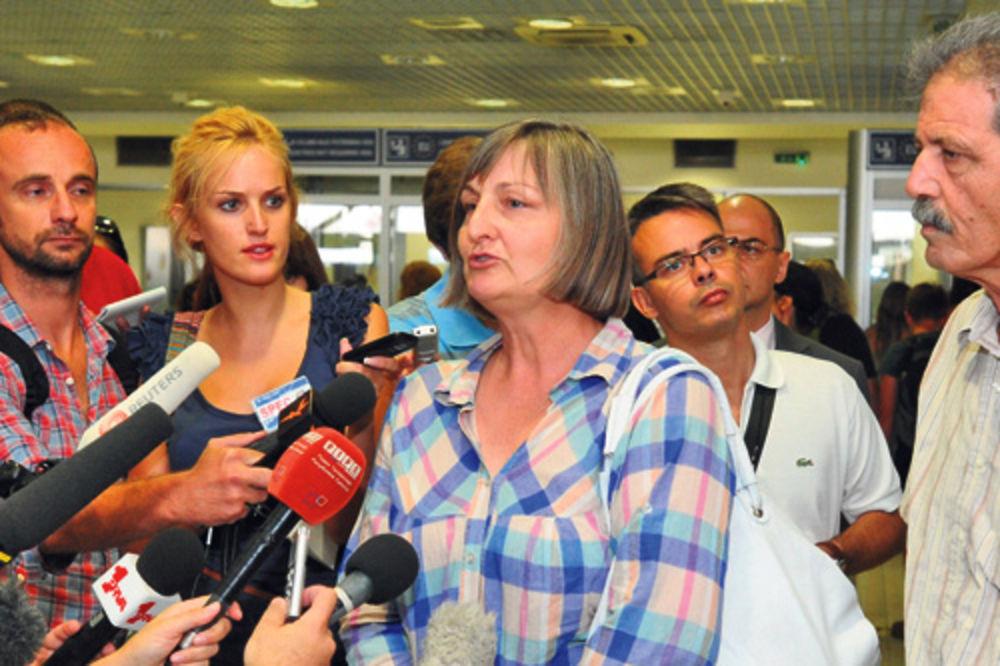Svetlana Đurđević sa suprugom jedva čekala da stigne u Beograd