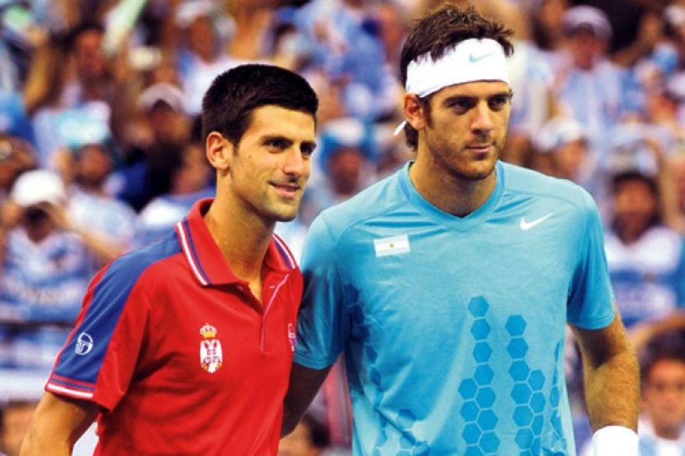 Novak Đoković i Del Potro