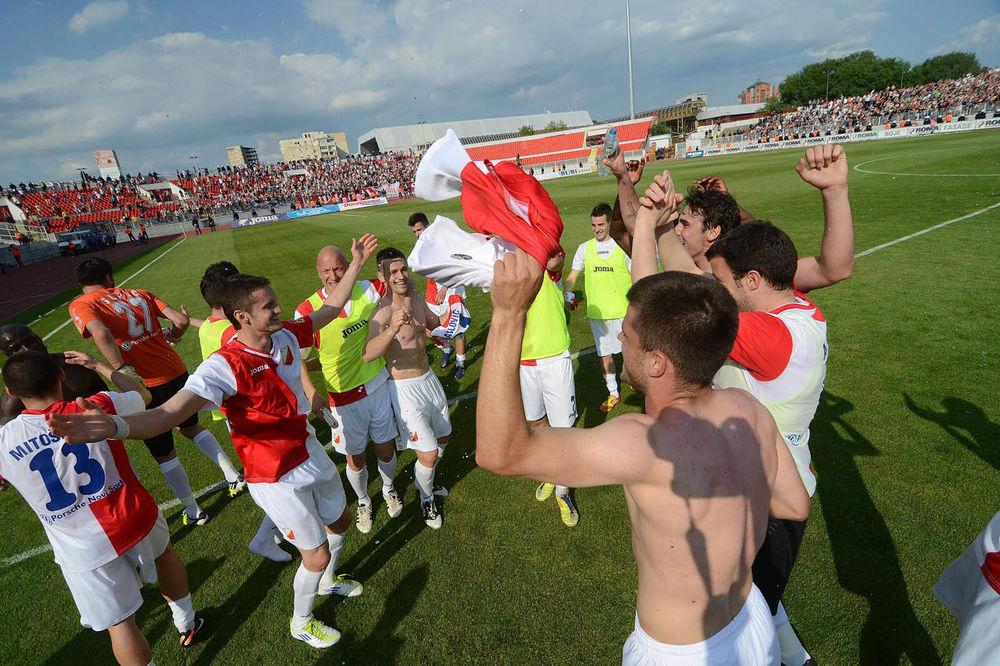 Idemo u Beč: Fudbaleri Vojvodine