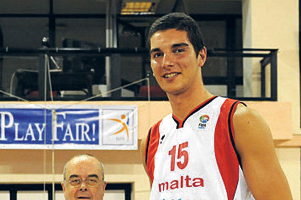 Partizan, košarka, proba, Malta, Maltežanin, Samuel Deguar,