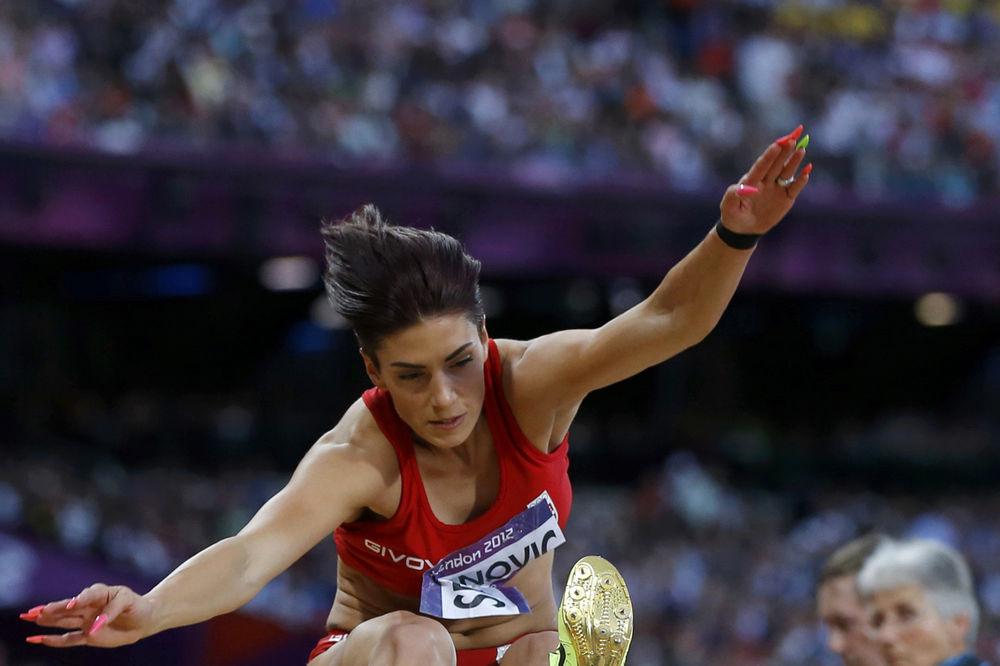 (VIDEO) IVANA LETELA DO 6,99: Pogledajte kako je Španovićeva skočila nepriznati rekord Srbije