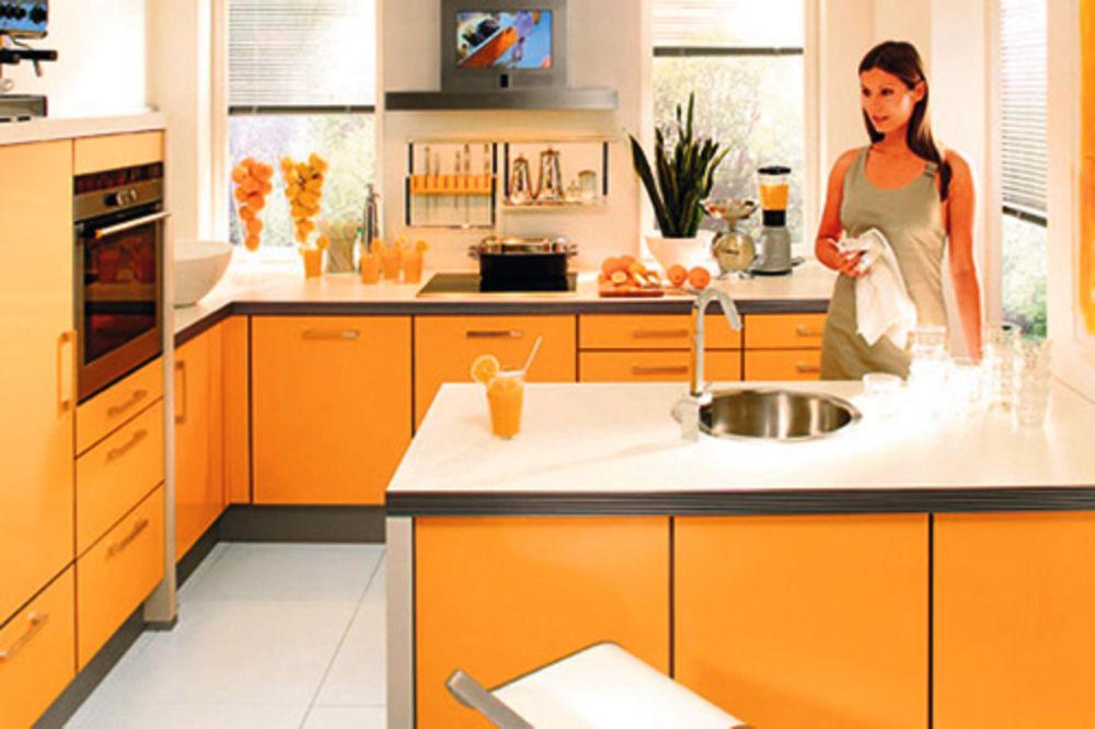 kuhinja, uređenje