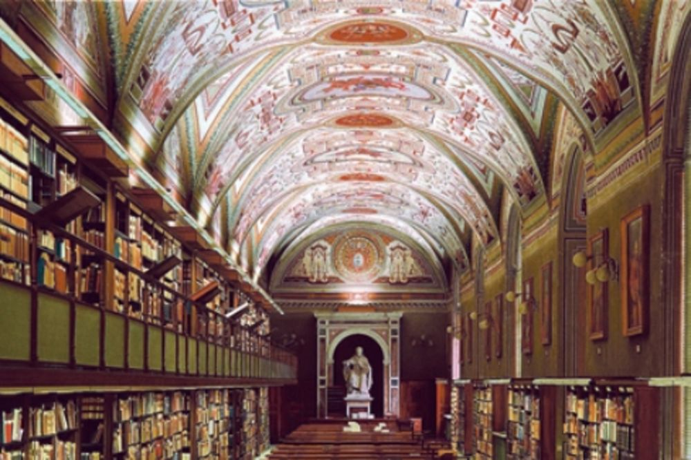 Vatikan, papa, Benedikt XVI, biblioteka, bibliotekar,