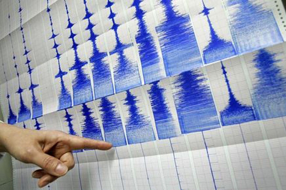 Tresla se i Grčka: Amlituda zemljotresa