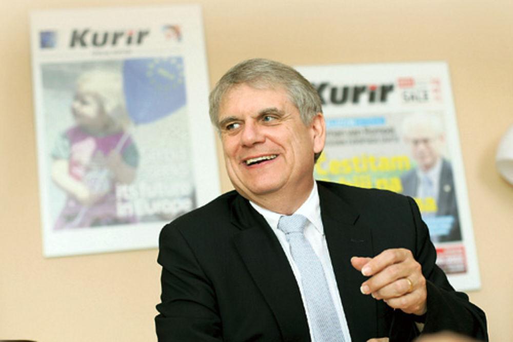 Volfram Mas, ambasador Nemačke, poseta Kuriru, intervju,