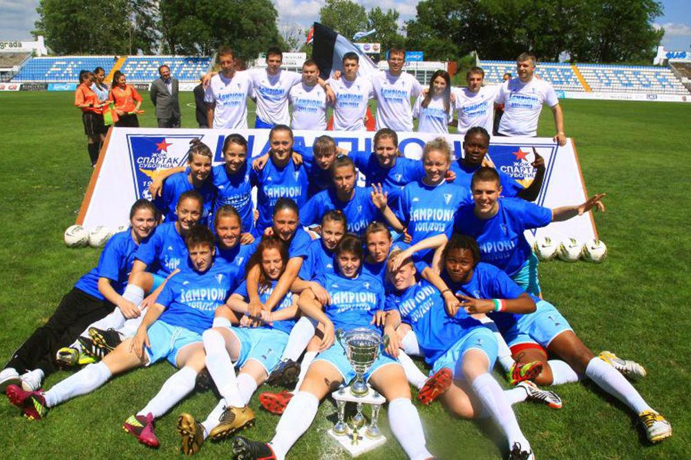 Na prragu Lige šampiona: Fudbalerke Spartaka