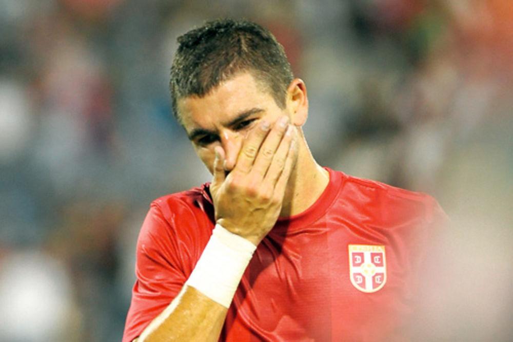 Aleksandar Kolarov, publika, loša poseta, povratak, reprezentacija Srbije, fudba