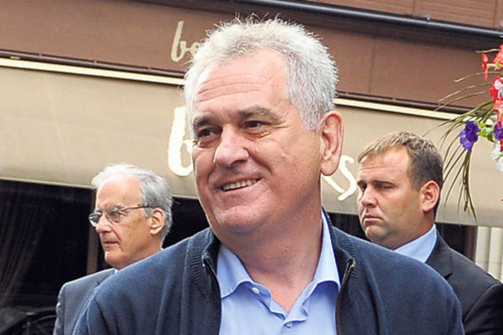 Tomislav Nikolić, supruga Dragica, letovanje, Belek, turska,