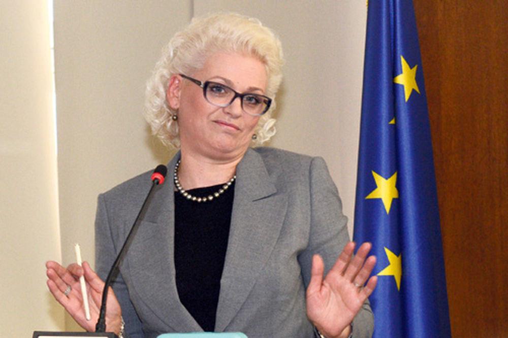 Jorgovanka Tabaković, Dejan Šoškić, plata, smanjenje plate