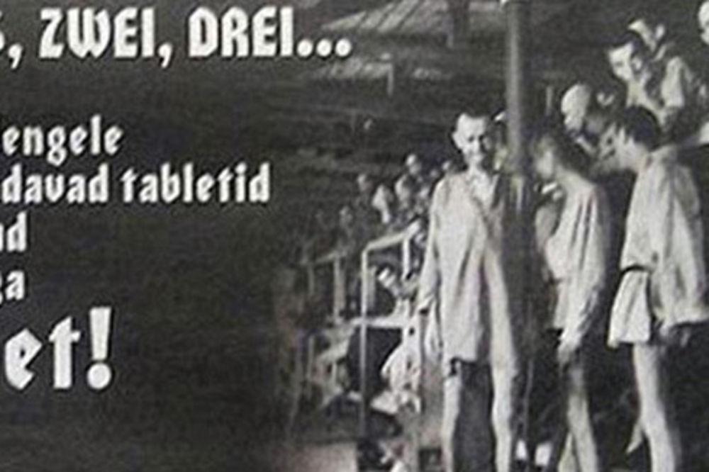 reklama, dr Mengele, Estonija, pilule za mršavljenje