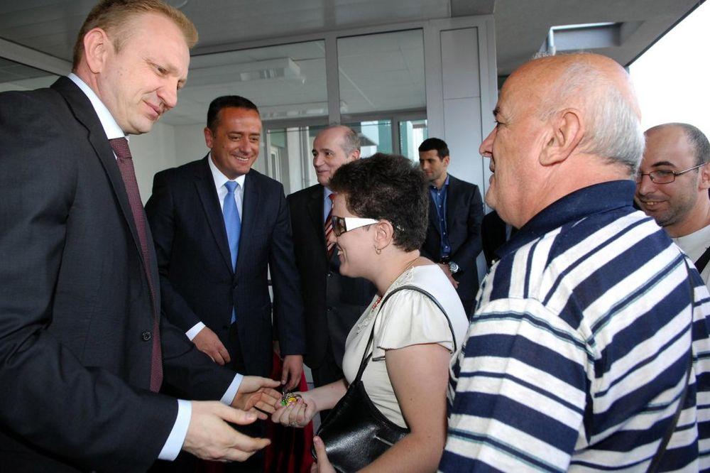 Dragan Đilas, stanovi, ključevi, uručenje, socijalno urgoženi, Beograd,