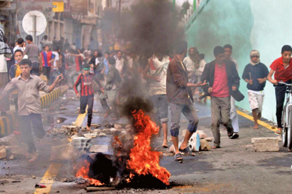protesti, Jemen, dvoje mrtvih, napali ambasadu, ambasada SAD, Sana, film Nevinos