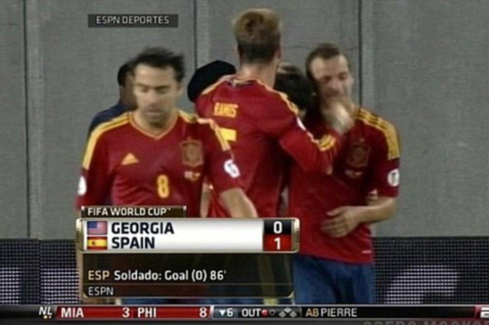 Gruzija - Španija