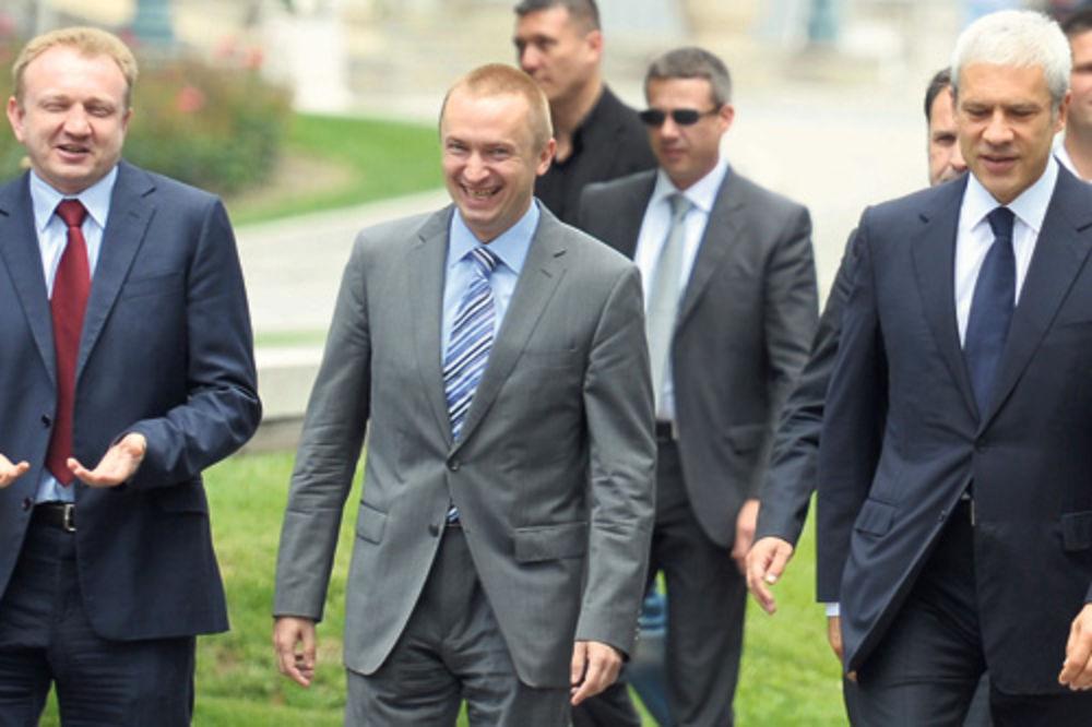 Bojan Pajtić, Boris Tadić, Dragan Đilas,
