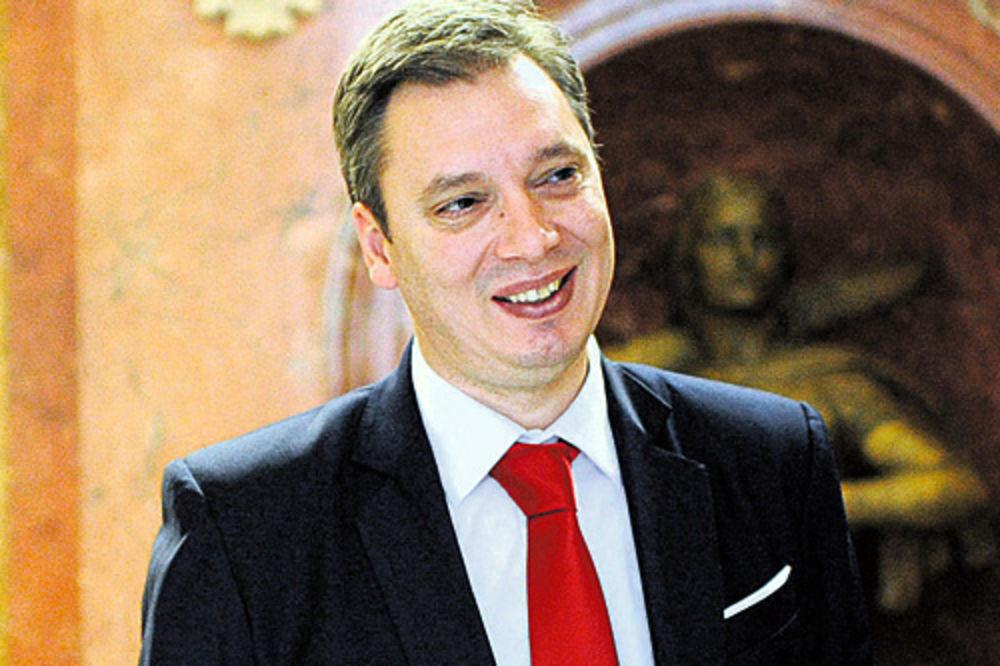 Vučić čestitao Tusku i Mogerini imenovanja