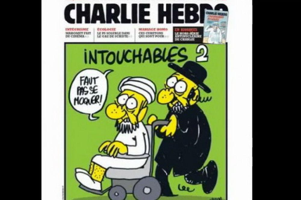 karikatura, Šarli Ebdo, goli Muhamed, prorok, Brižit Bardo,