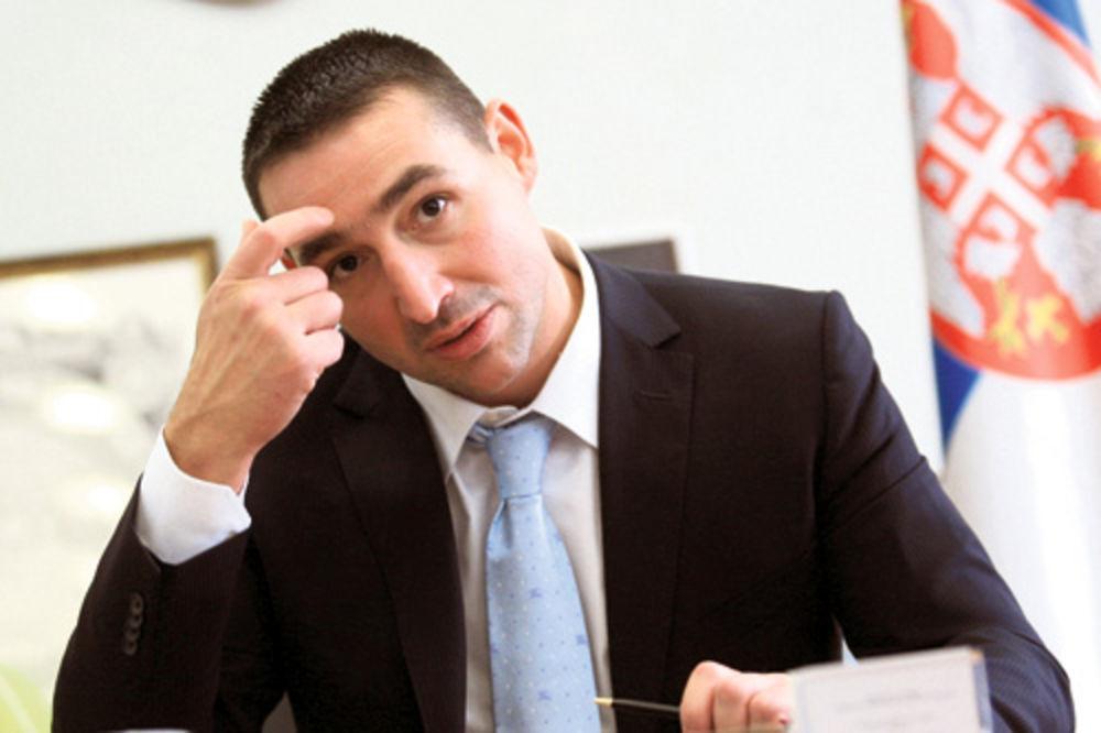 oliver dulić, srbija open, pad, Novak Đoković, državni vrh,