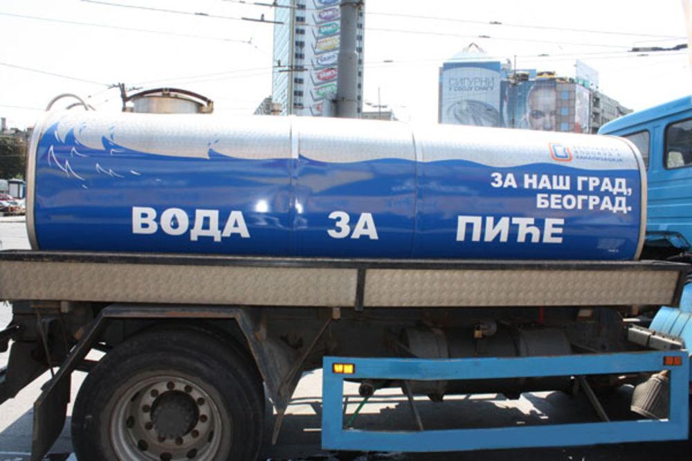 VRUĆINA U BEOGRADU: Na ključnim lokacijama u gradu postavljene cisterne!