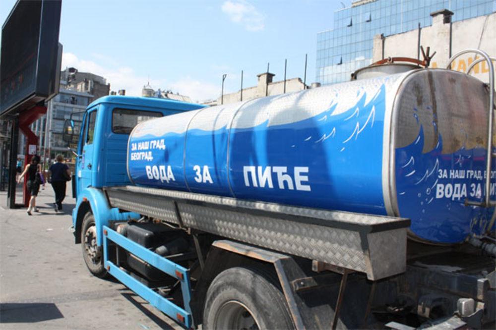 PRIPREMA ZA TROPSKI DAN U BEOGRADU: Cisterne sa vodom na 10 lokacija u gradu