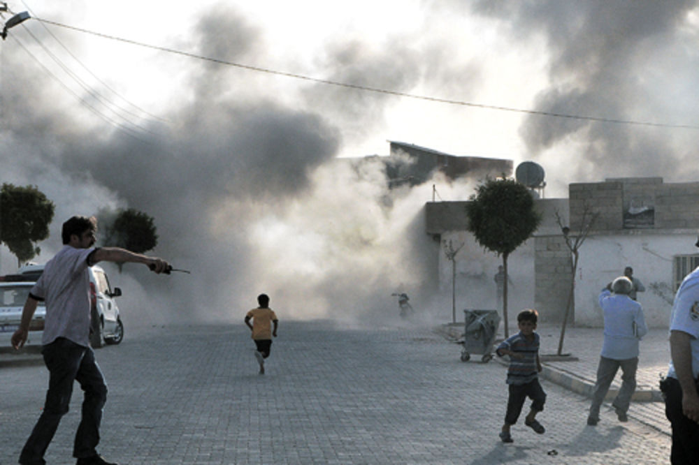 Turska, Sirija, rat, granatiranje, sukob,