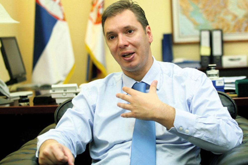 Vučić: Voleo bih da italijanskog premijera upoznam u Trstu!