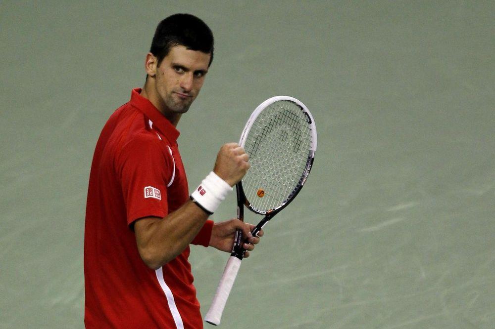 Novak Djokovic, Sangaj