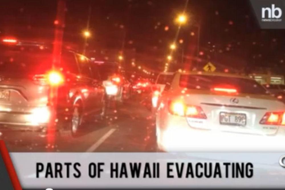havaji evakuacija