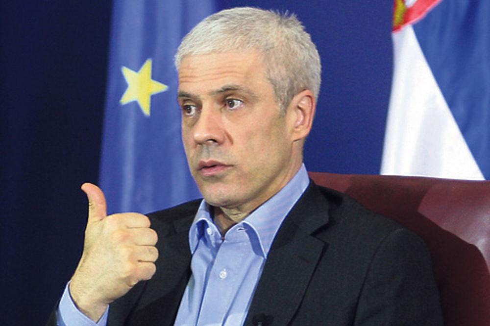 Marko Nikolić, opština Vračar, studenti, donacije, DS, demokrate