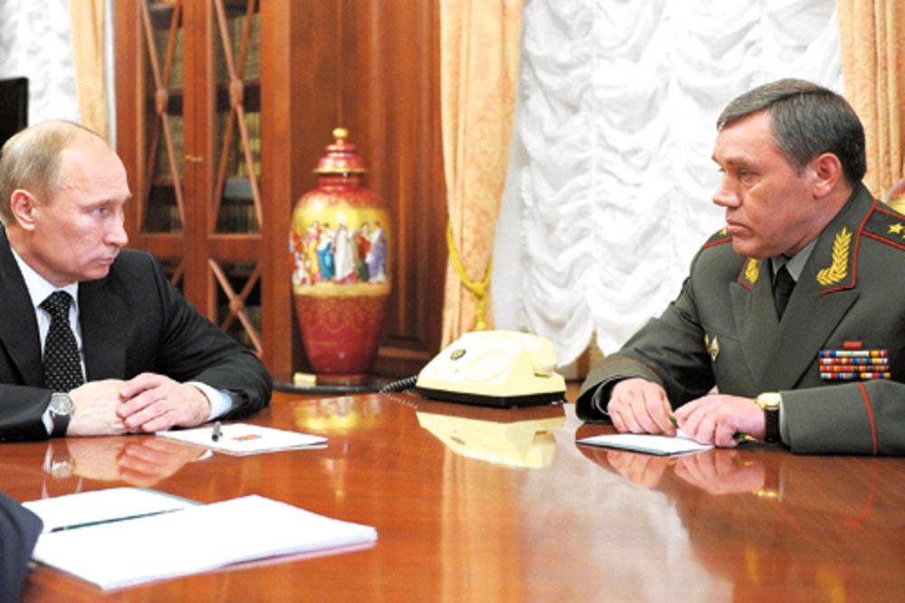 Vladimir Putin, Valerij Gerasimov