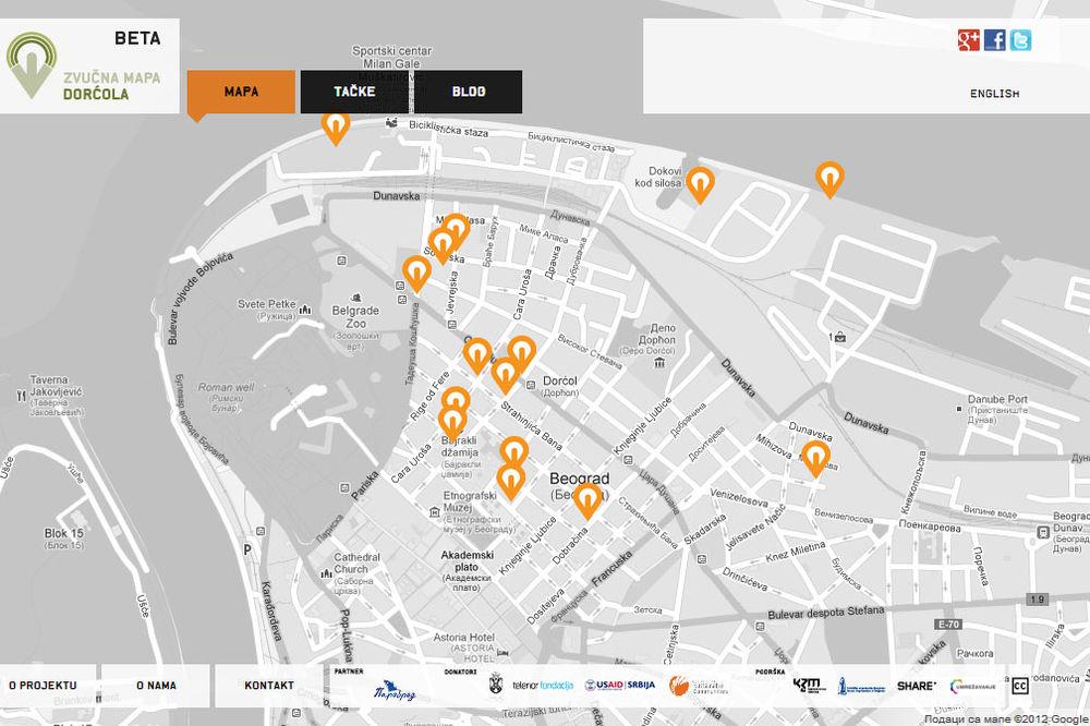 Zvucna Mapa Dorcola Na Internetu