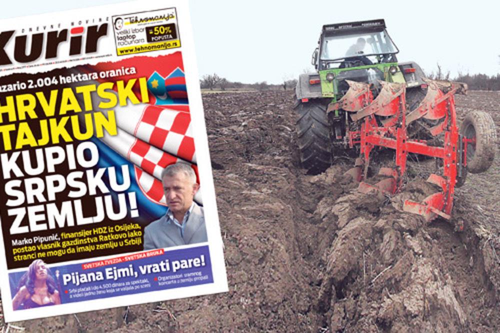 prodaja zemlje, zemljište, oranice, Nenad Ilić, udruženje Obruč