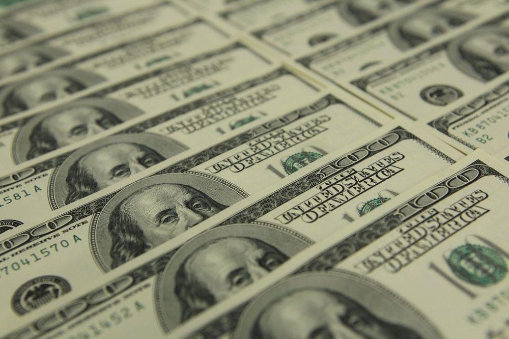 dolar, rojters