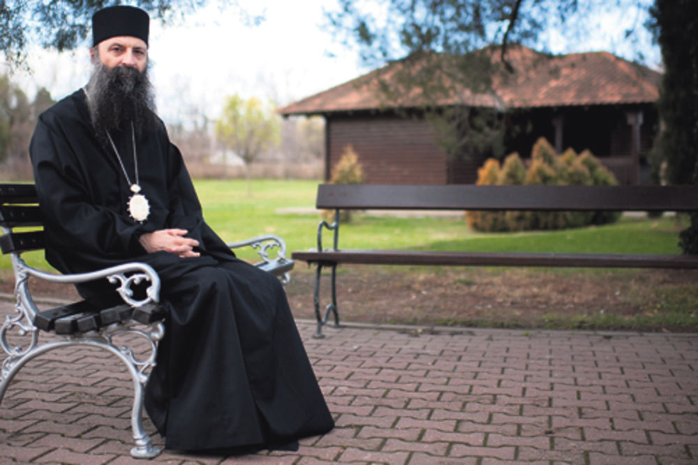 episkop jegarski Porfirije, Ramuš Haradinaj, haški trubunal,
