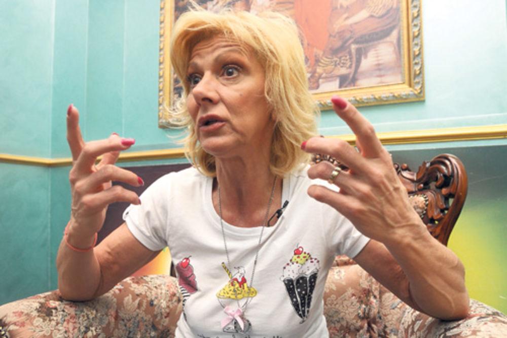 PANIKA: Ceca Kitić se opraštala od života