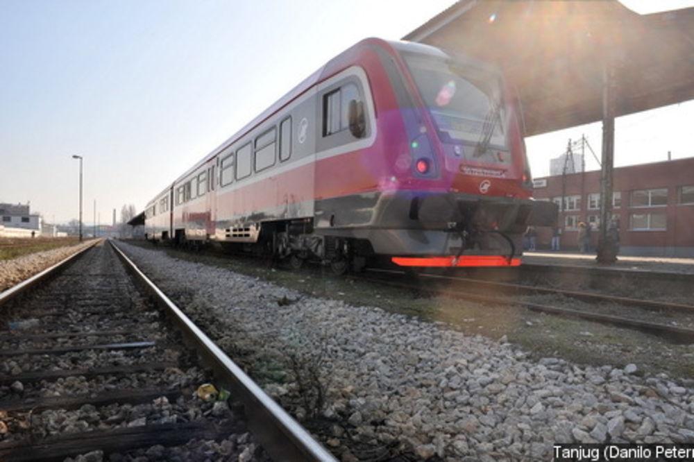 Sutra i u sredu umesto voza na liniji Zrenjanin-Beograd privremeno autobusi