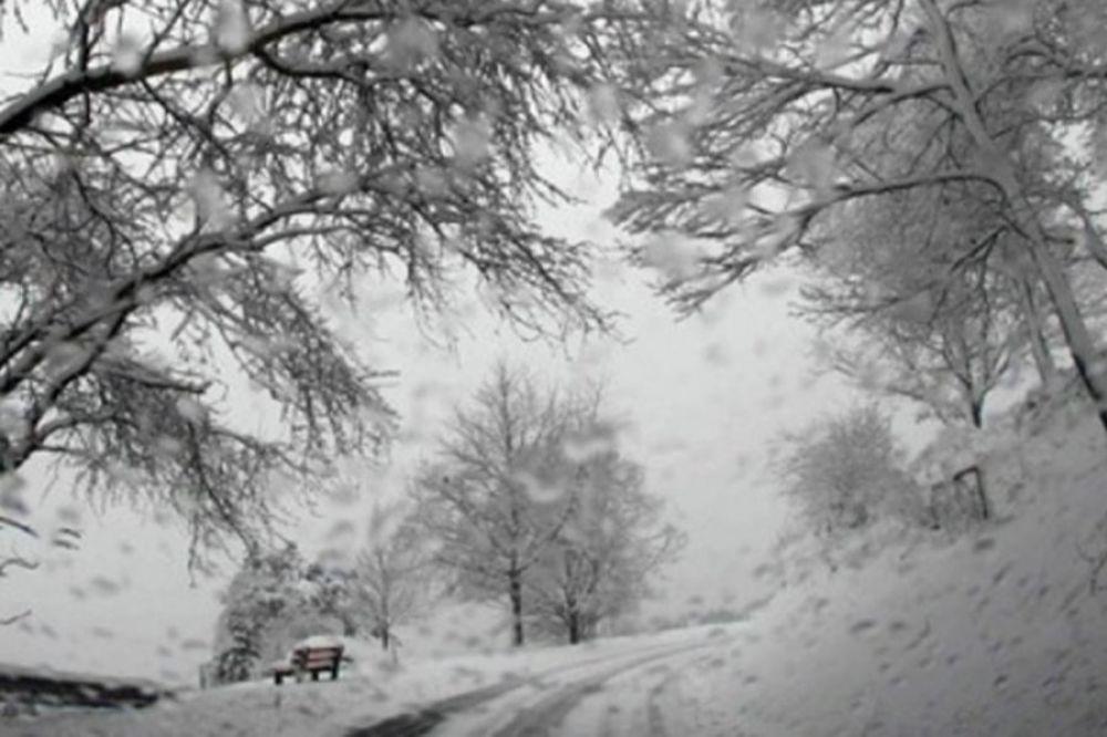 BEOGRAD - U Srbiji jutros pada sneg u većini gradova. Preovladavaće