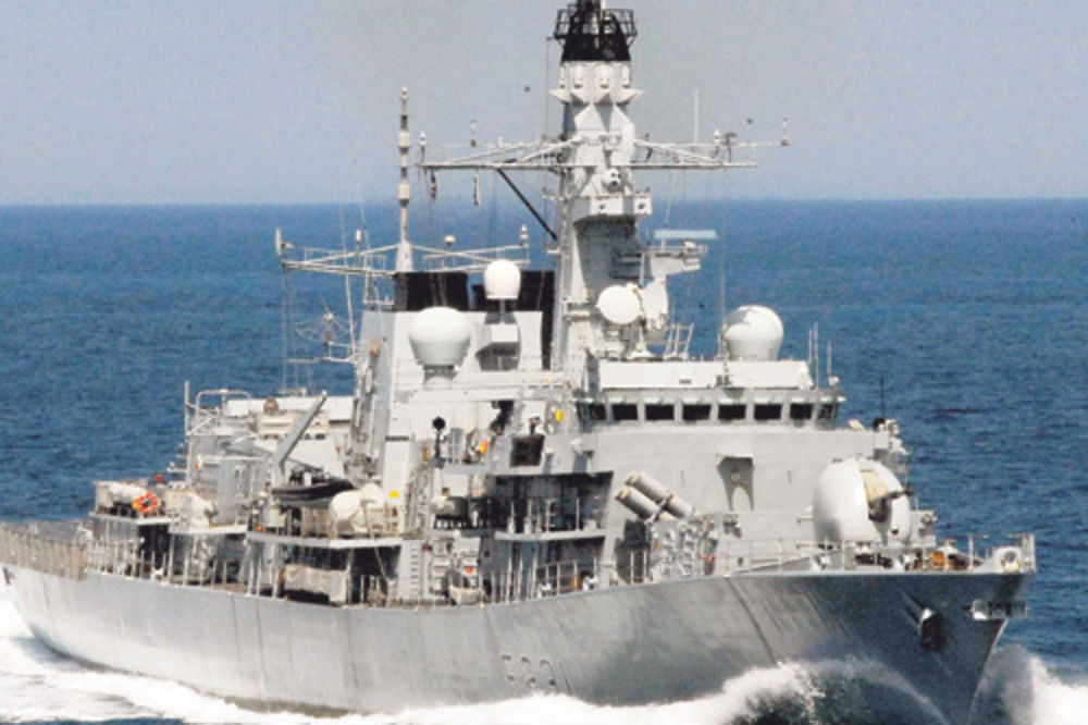 GUŽVA KOD GIBRALTARA: Španski brod upao u britanske teritorijalne vode!