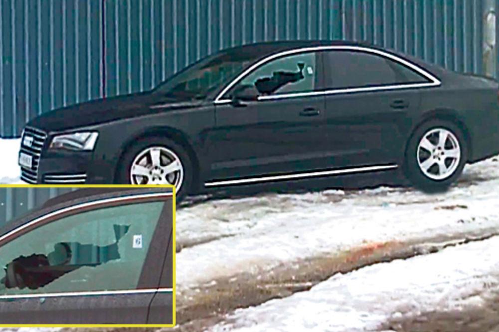"""""""Audi"""" u kom je ubijen Vidak Vorotović"""